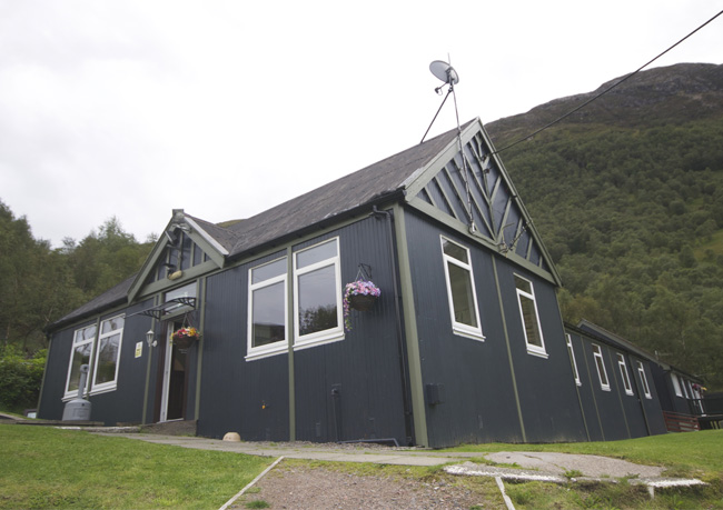 West Highland Lodge Hostel external